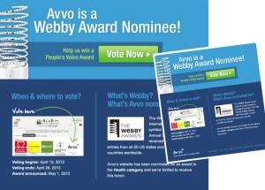 Avvo Webby Facebook