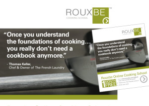 Rouxbe TED insert