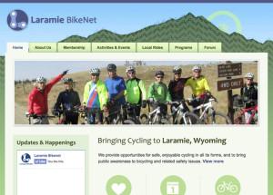 Laramie BikeNet website