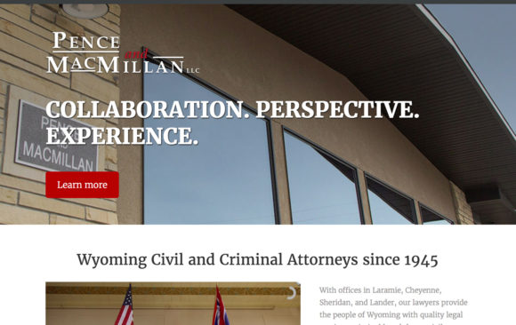 Pence & MacMillan website
