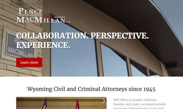 Pence & MacMillan website