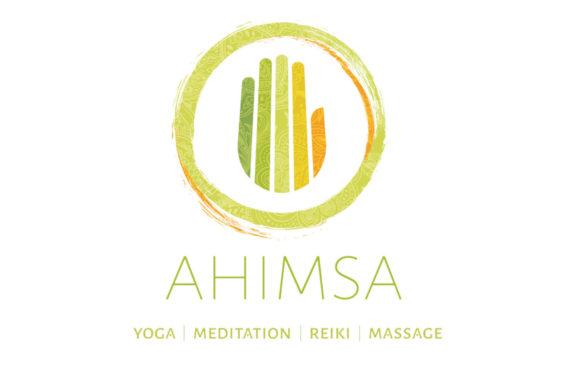 Ahimsa logo design