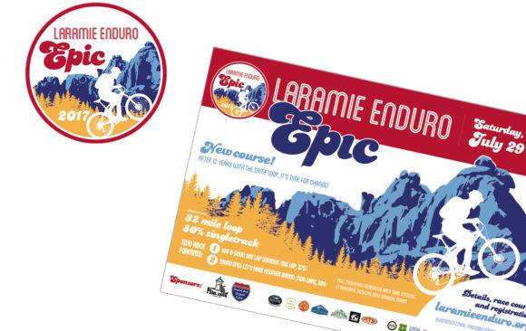 Laramie Enduro Epic logo & poster
