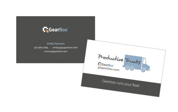 Gearbox business cards