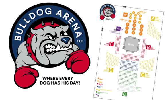 Bulldog Arena logo & print
