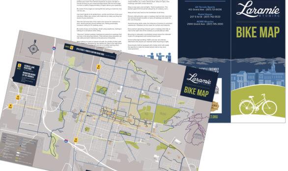 Laramie bike map