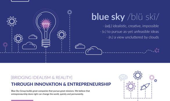 The Blue Sky Group website