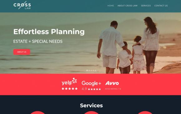 Cross Law website