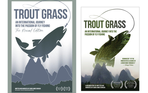 Trout Grass poster design