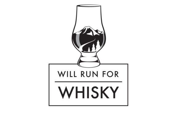 Will Run for Whisky logo