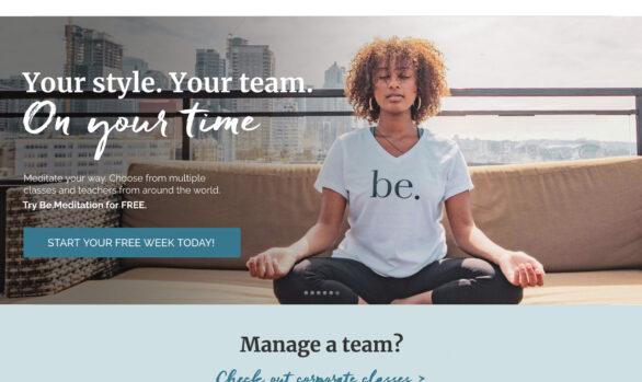 Be Meditation website