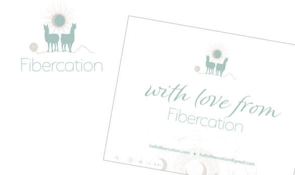 Fibercation branding, website, and printed materials