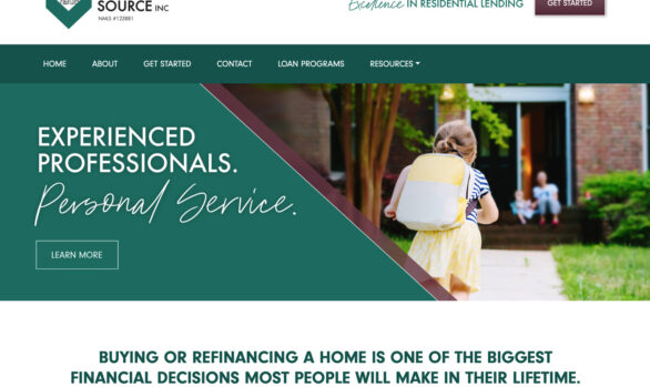 The mortgage source website
