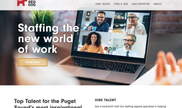 Team Red Dog website